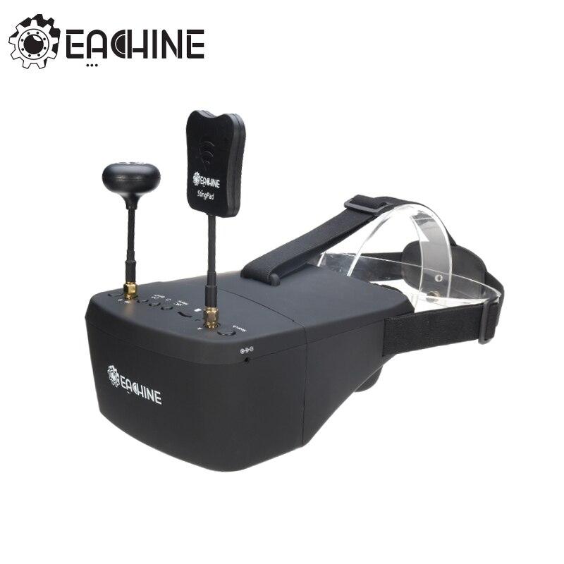 ¡En la acción! Eachine EV800D 5,8g 40CH 5 pulgadas 800*480 vídeo auriculares HD DVR diversidad FPV gafas con batería para RC modelo