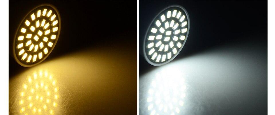 Led Spotlight Bulb E27 GU10 MR16 Led Lamp 220V 5W 7W 9W 18 24 32 Leds 5733 Bombillas Lampada (12)