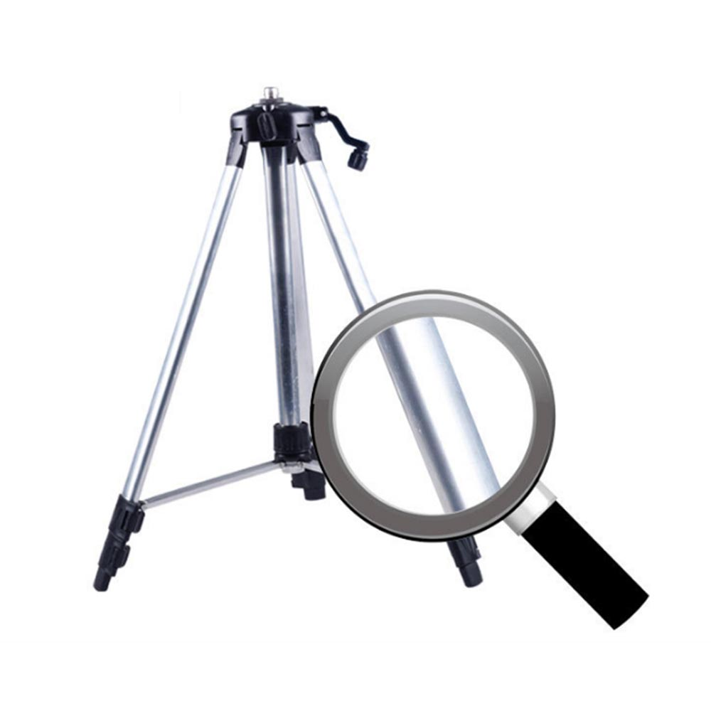 120/150cm Tripod Carbon Aluminum With 5/8 Adapter For Laser Level Adjustable Laser Level Plate Aluminum Plate Tripod T0.11