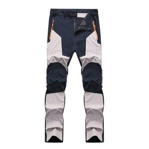 Image 3 - Summer Men Anti UV Outdoor Camping & Hiking Windproof Waterproof Pantalon Skiing Quick drying Pants Men Mountain Treking Pants