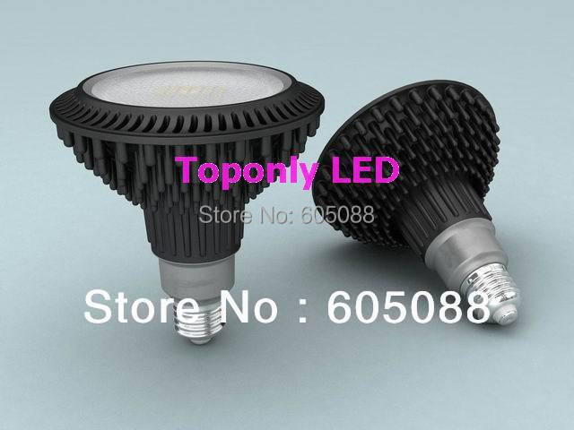 ФОТО 18W E27 Epistar SMD5730 PAR38 led dimmable spot light 1560lm AC110/220v Patent Design 96pcs/lot wholesale DHL free shipping
