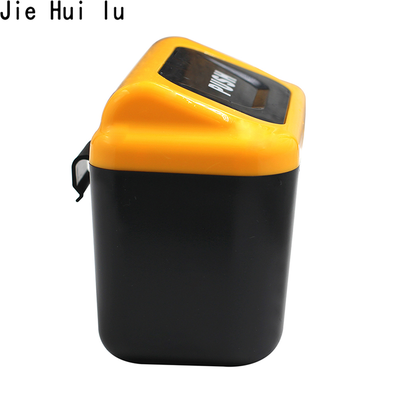 Car Trash Bin Auto Mini Cans Rubbish Can Garbage Dust Dustbin Box Case Holder Hook Plastic Bucket in Car Trash from Automobiles Motorcycles