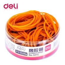 1 шт латексные резинки deli для канцелярских товаров