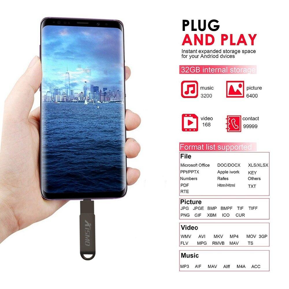 Kismo 3 в 1 USB3.0 type-C флэш-накопитель 16 ГБ 32 ГБ 64 ГБ 128 ГБ Micro USB памяти OTG флеш-накопитель для Android телефонов ПК