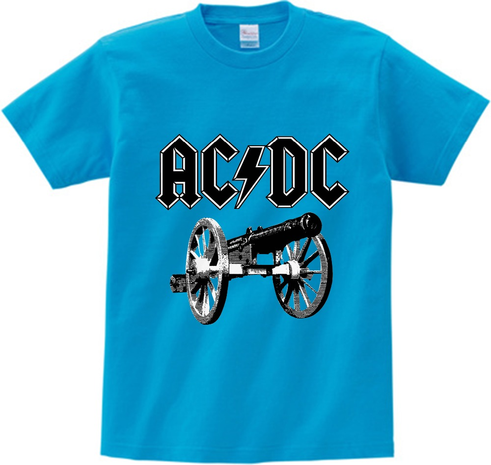ac//dc t-shirt kid model:3 acdc shirt clothing kid Tshirt for children size:1-8 y