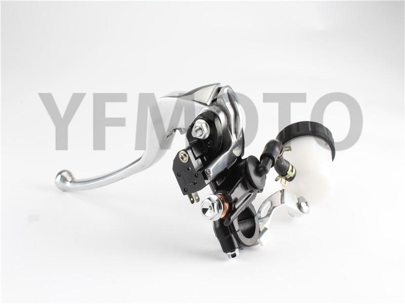 New Motorcycle Front Brake Master Cylinder Reservoir Clutch Lever For Kawasaki ER-6F/ Ninja 650 ER-6N VN750 ZX750 Z750 ZX600 motorcycle front brake master cylinder brake lever