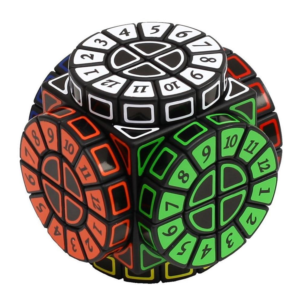 Babelemi 2x2 Time Machine Special-shaped Speed Magic Cube Skewb Cubes Education Toys for Kids Children 8pcs set shengshou s magic cubes 3 3 2 2 2x2 3x3 skew sq1 megaminx mastermorphix triangle pyraminx mirror rubix rubic cube