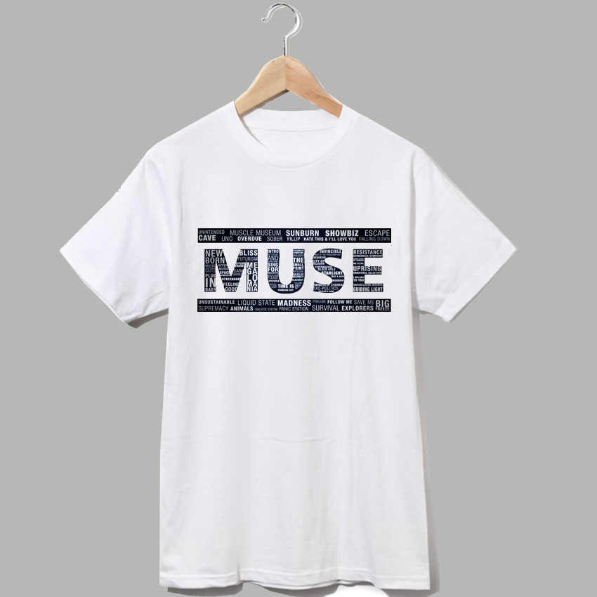 05b2e091a Detail Feedback Questions about muse classic rock band logo tee ...