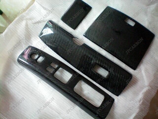 Carbon Fiber Interior Trim Set 4 Pieces For 2003 2005 Nissann Fairlady Z33  350Z 2004