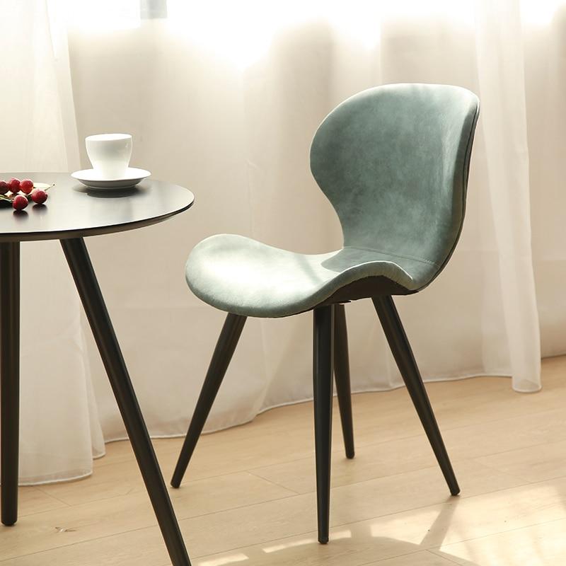 Chaud nordique chaises en bois massif salle à manger moderne minimaliste européen meubles de maison Design chaise