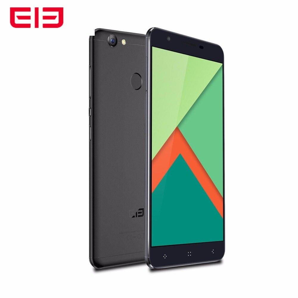 ELEphone C1X 5.5'' Quad Core 4G Phone 2G RAM 16G ROM Fingerprint Dual Sim Smartphone