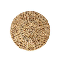 Natural Handmade Woven Straw Pot Holder Coaster Dining Table Mat Heat Insulation Coasters Placemat Kitchen Accessories