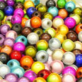 6MM 500Pcs / pack Special Magical Colorful Acrylic Plastic Bead Jewelry Beads