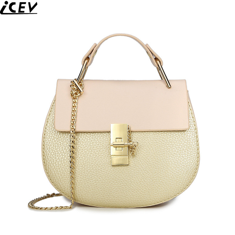 2018 New Candy Color Women Messenger Bag Ladies Small Cute Shoulder Bag Designer Chain Crossbody Bags