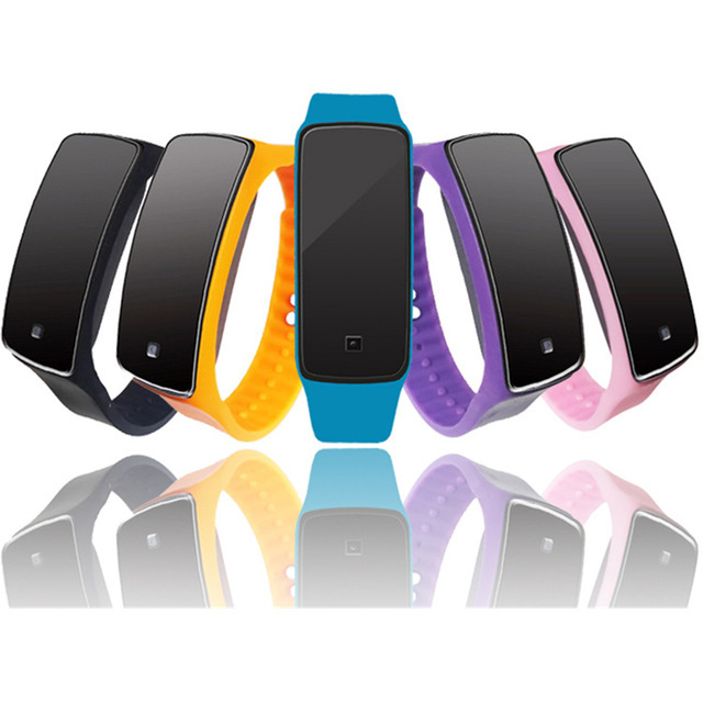 Отличное качество Новинка 2017 года цифровые часы женские мужские резиновые светодиодный часы Дата спортивный Браслет цифровой наручные часы для подарка