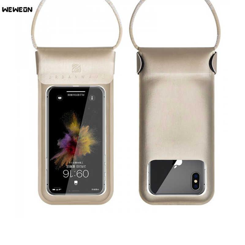 טלפון נייד עמיד למים תיק לשחייה צלילה מגע מסך עמיד למים Dustproof טלפון תיק מתחת למים תמונה עמיד למים כיסוי