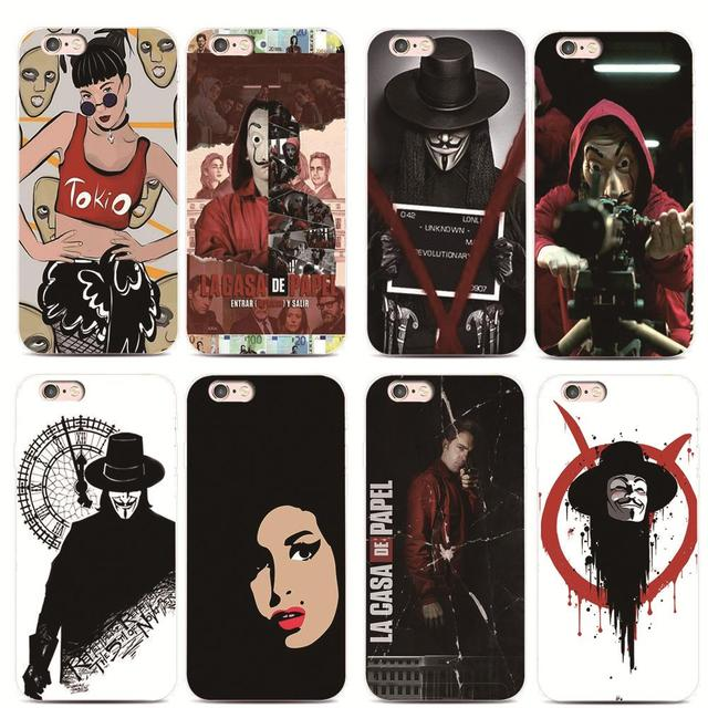 coque la casa de papel iphone 6