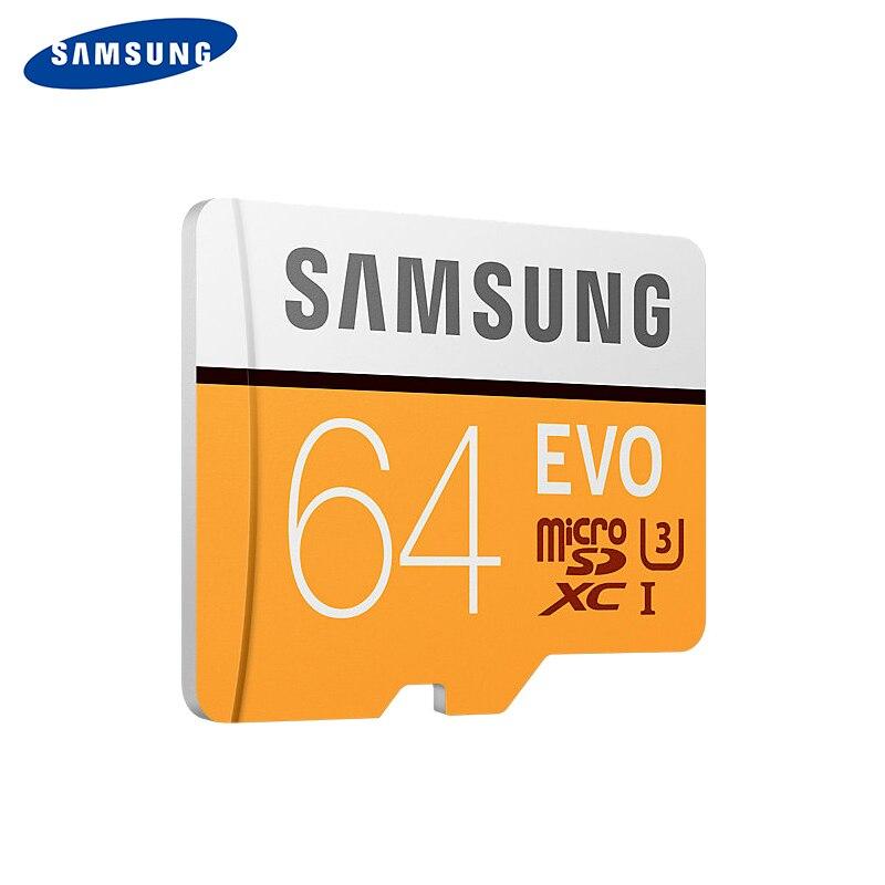 SAMSUNG Memory Card EVO 128GB 64GB 32GB 16GB SDHC TF48M EVO MicroSD 48M/s Class 10 Micro SD C10