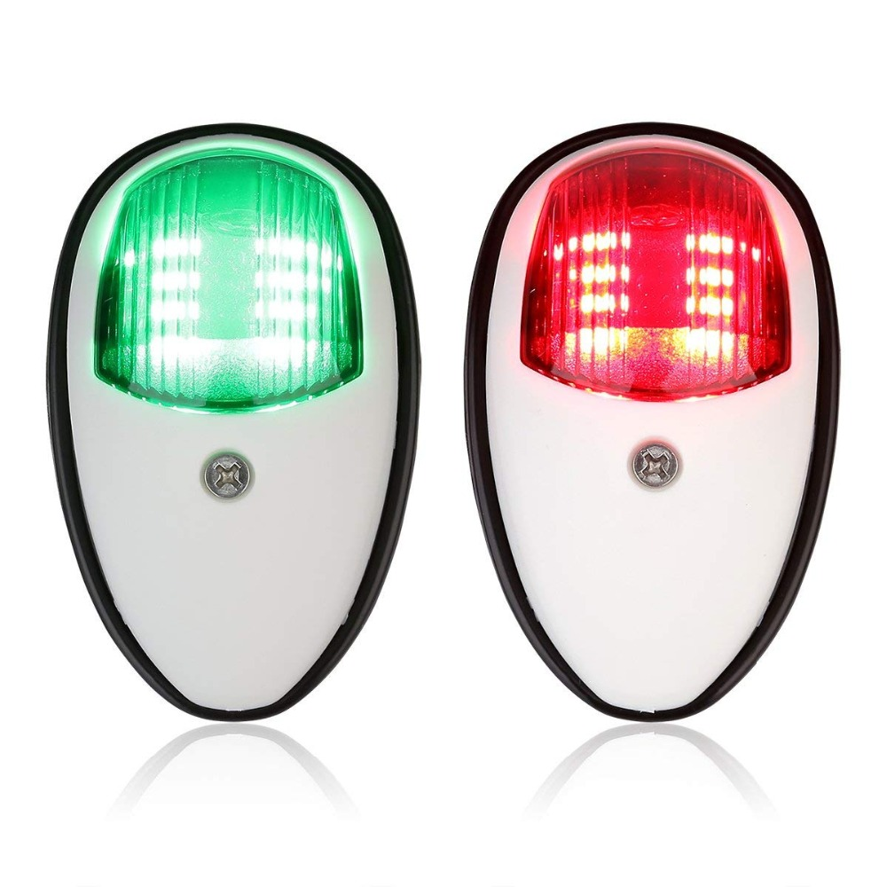 Boat Parts & Accessories Atv,rv,boat & Other Vehicle Jeazea 2pcs Dc12v 8w Green Red Marine Navigation Led Light Starboard Port Side Light For Boat Yacht Skeeter