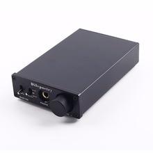 Dilvpoetry DAC-X6 Fiebre HiFi AMP Amplificador de Auriculares DAC USB de Fibra Coaxial Decodificador de Audio Digital 24BIT/192 + CS8416 AK4452 + JRC5532