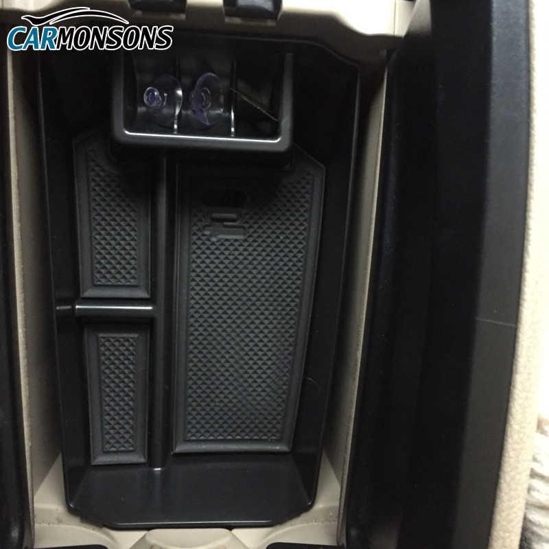 Organizer mobil untuk Mercedes Benz GLK Kelas X204 GLK 200 220 250 260 300 Aksesoris Sandaran tangan pusat Kotak Penyimpanan Kontainer Tray