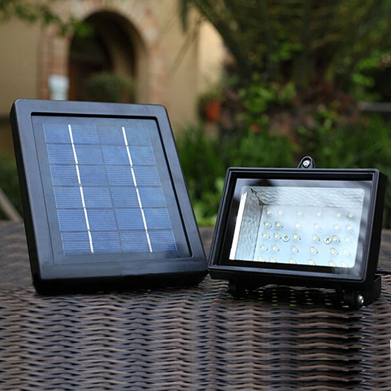 Energy Saving Solar Lamp Solar Power Panel 30 LED Solar Light Outdoor Sport  Yard Sidewalk Fence
