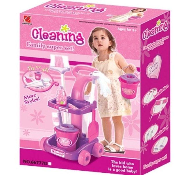 Children S Educational Toys Baby Girl 2 3 Years Old Girls Cleaning