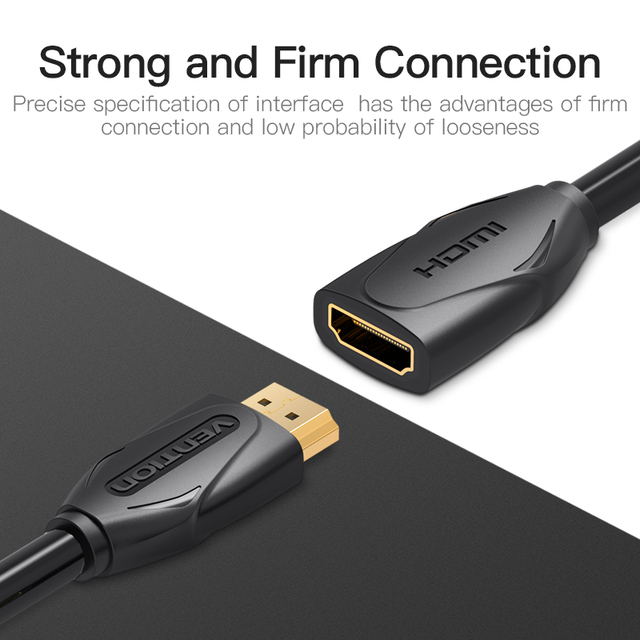 Vention HDMI Extension Cable  Male To Female