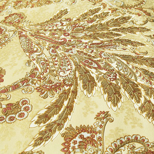 3D gold peacock feather three-dimensional thickened wallpaper deep embossed PVC embroidery background wall paper high quality embroidery basis book 500 kinds of three dimensional embroidery patterns