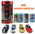 1:63 Mini Rc Car Coke Cans Remote Control Car Rc Drift Model Car Toys For Children