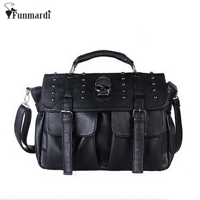 Classic skeleton head handbags b639cc1596a0c