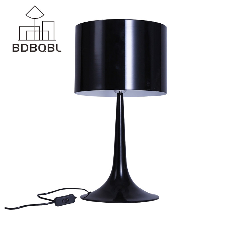 BDBQBL Metal Lampshades Modern Table Lamp Loft Nordic Design Desk Lamp Desktop Study Reading Bedside Home Lighting Abajour T-03 фильтр altz грубой очистки 1 014110103