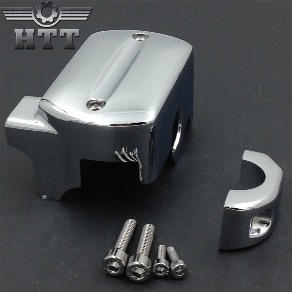 Aftermarket free shipping motorcycle parts Front Brake Fluid Master Cylinder Cover for Yama V-Star 650 950 1100 1300 CHR aftermarket free shipping motorcycle parts motorcycle bike lowering links fit for 1987 2007 kl klr 650 black