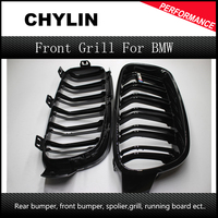 1 Pair F30 Car Styling Grill M3 Style F31 Kidney Black Replacement Grille For BMW F30