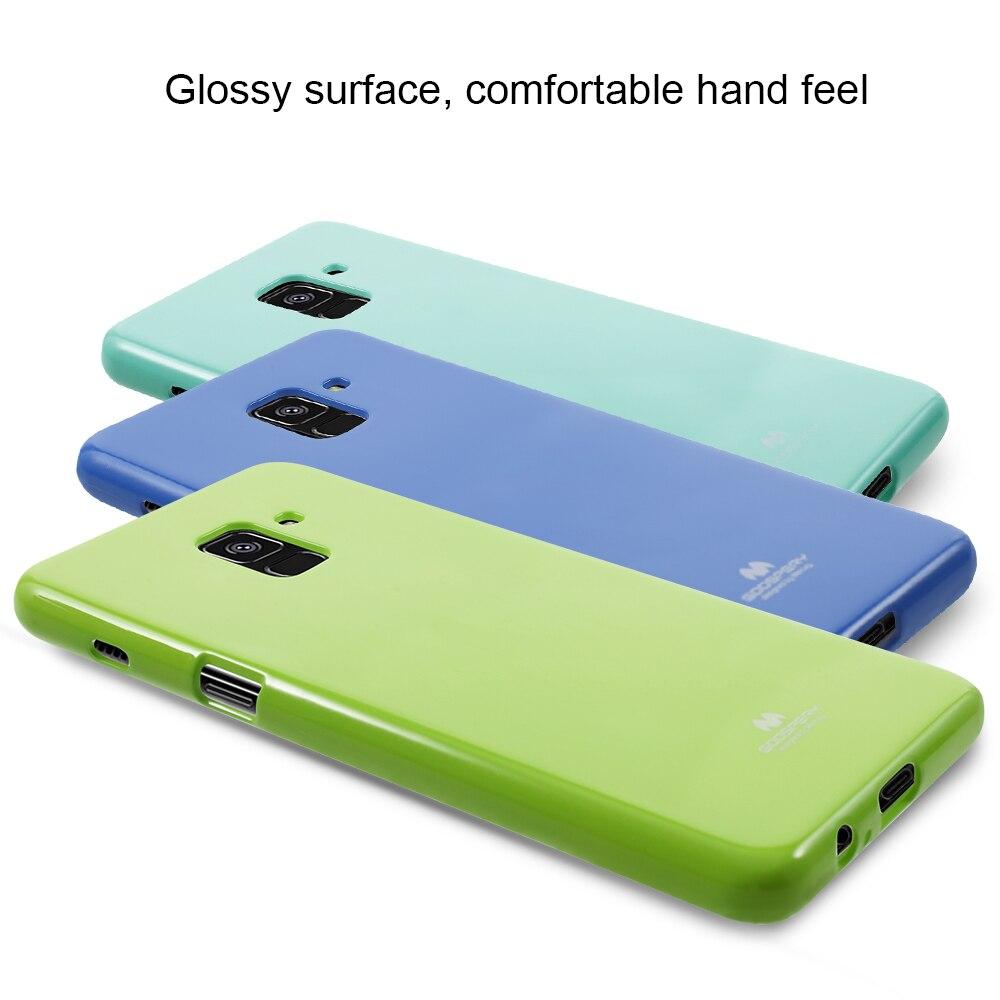 Mercury Goospery For Samsung Galaxy Note 8 Case Glitter Powder Soft S8 Feeling Jelly Black A8 2018 Tpu