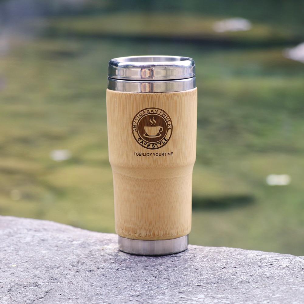 500ml Bamboo Travel Mug