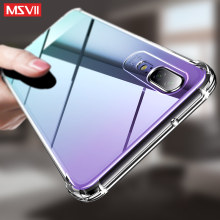 Msvii for Huawei P20 Lite Case Transparent for Huawei Mate 20 Lite Case Silicon for Huawei P30/P20 Pro Case Silicone Funda Cover(China)