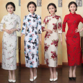 2016 winter bride dress party dresses sleeveless qipao wedding cheongsam chinese traditional dress