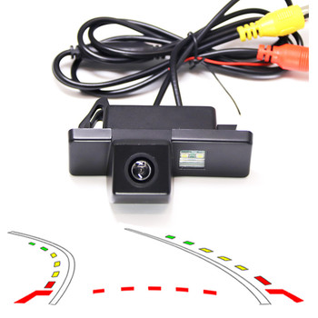 Dynamic Trajectory Car Rear View back Camera For Nissan Qashqai X-Trail Geniss Pathfinder Dualis Sunny Peugeot 307cross 308 408 image
