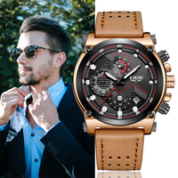 LIGE Mans Wristwatch Mens Military Waterproof Date Clock Big Dial Business Watch Mens Watches Top Brand Luxury Relogio Masculin