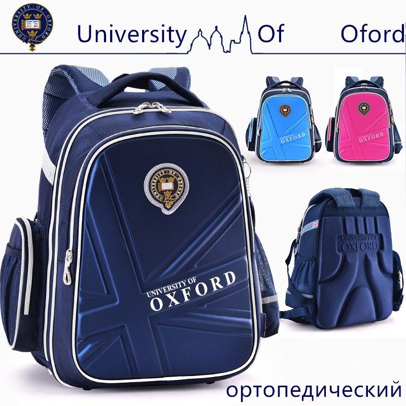 Новинка 2020, Оксфордский школьный рюкзак, светоотражающая забота о позвоночнике, легкий ортопедический водонепроницаемый рюкзак класса 2 6|university of oxford|backpack orthopedicorthopedic backpacks | АлиЭкспресс