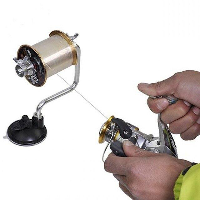 Переносная леска моталка катушка намоточная система рыболовные снасти алюминиевый натяжитель Contorl обертка системы инструменты H150128C