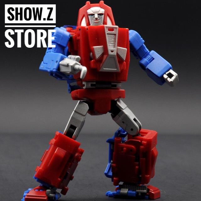 [Show.Z Store] BadCube OST-09 Grump G1 TF Action Figure managing the store