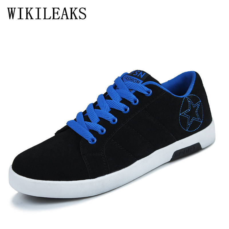 designer luxury brand   suede     leather   shoes man striped stars casual shoes men mocassin homme sapatenis masculinos casual hip hop
