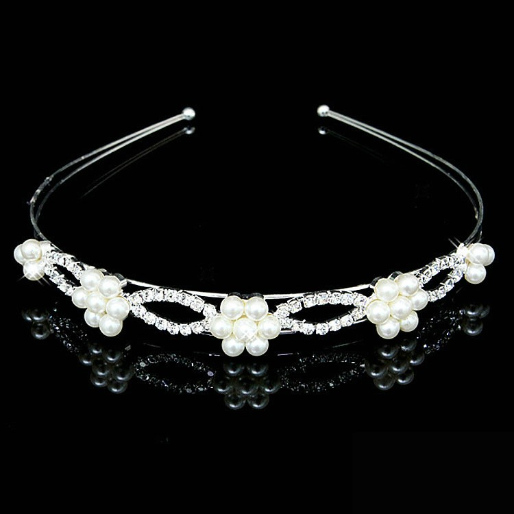 HTB1KdmrKXXXXXcQXFXXq6xXFXXXV Romantic Bridal Bridesmaid Prom Crystal Pearl Charm Headband Tiara Crown - 15 Styles