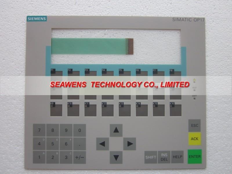 Membrane keyboard for 6AV3617-1JC00-0AX0 SlMATIC HMI OP 17 KEYPAD, Membrane switch, simatic op17 HMI keypad ,IN STOCK 6av3607 5ca00 0ad0 for simatic hmi op7 keypad 6av3607 5ca00 0ad0 membrane switch simatic hmi keypad in stock
