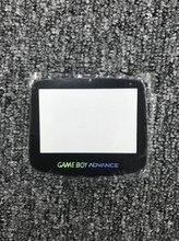 Repuesto de cristal para gba sp, repuesto de pantalla lcd advance sp, 10 unidades/lote