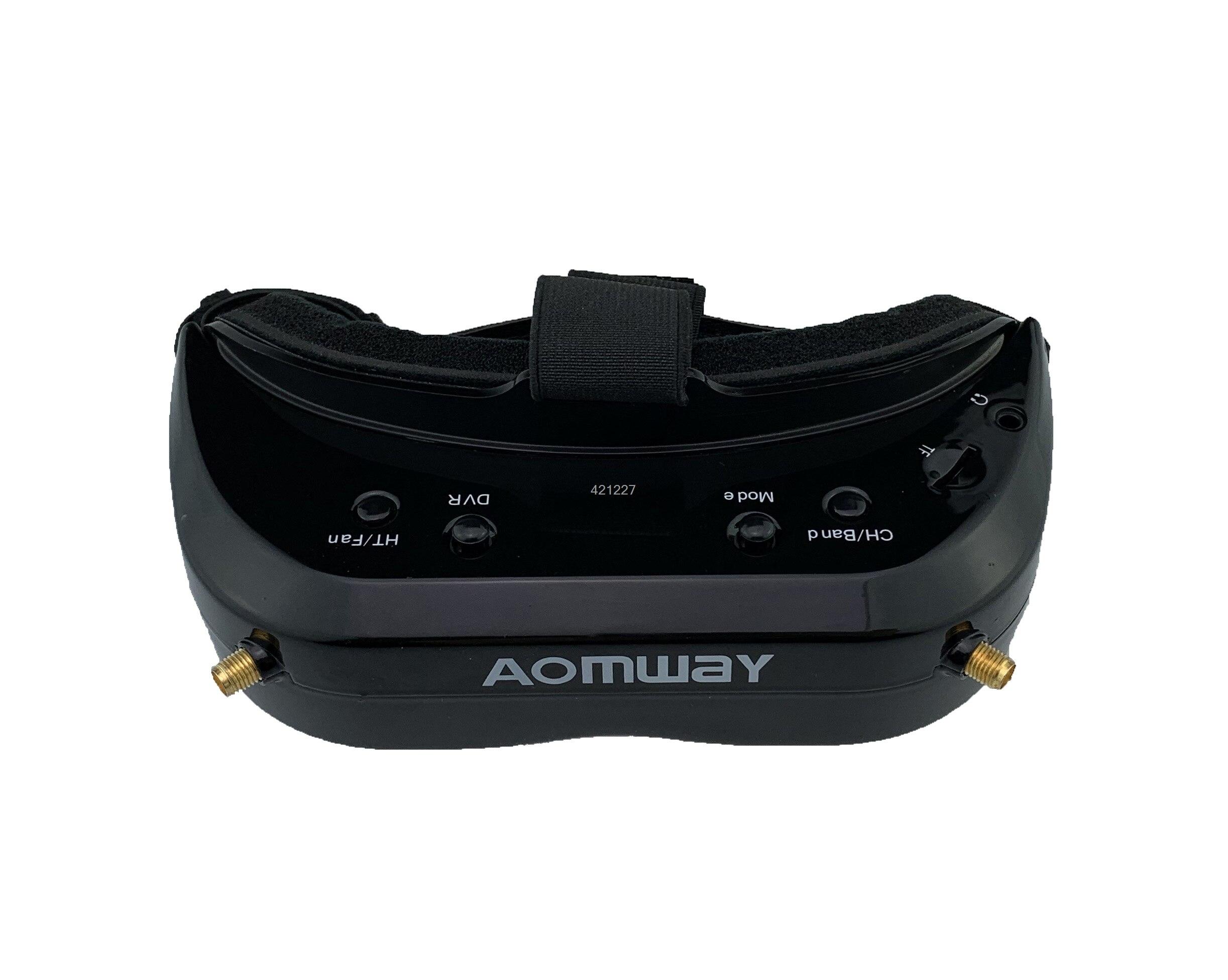 2019 New Aomway Commander Goggles V1S 2D 3D 64CH 5.8G FPV Video Headset Support HDMI 720p DVR Headtracker Instead V1 v2 - 2