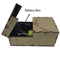 Useless box macchina regalo di compleanno del giocattolo diy kit inutile geek gadget bavaglio di Scherzo di gioco Broad Tricky toys Divertente Ufficio Scrivania A Casa Decorazione