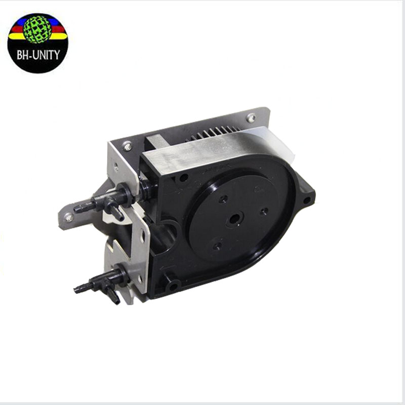 fast shipping!!Eco solvent printer spare parts Roland VP540 XJ640 XC540 RS640 U shape ink pump 2pcs/lot for selling 300 400ml min 24v dc jyy brand big ink pump for solvent printer with free shipping cost by dhl